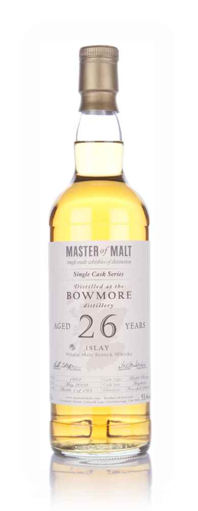 Bowmore 26 Year Old - Single Cask (Master of Malt)