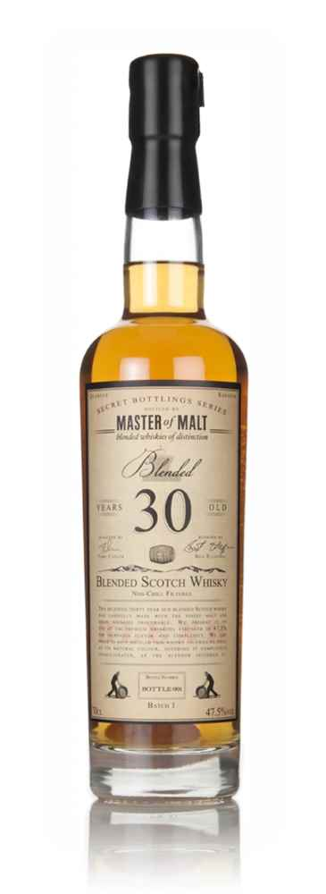 Master of Malt 30 Year Old Blended Scotch Whisky