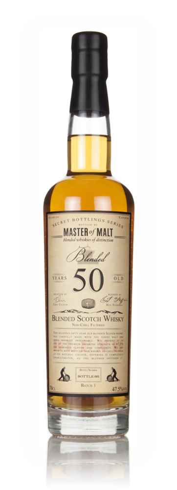 Master of Malt 50 Year Old Blended Scotch Whisky