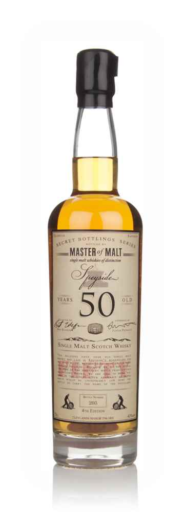 Master of Malt 50 Year Old Speyside (4th Edition)