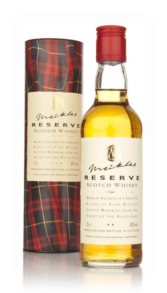 Meikles Reserve Scotch Whisky 35cl
