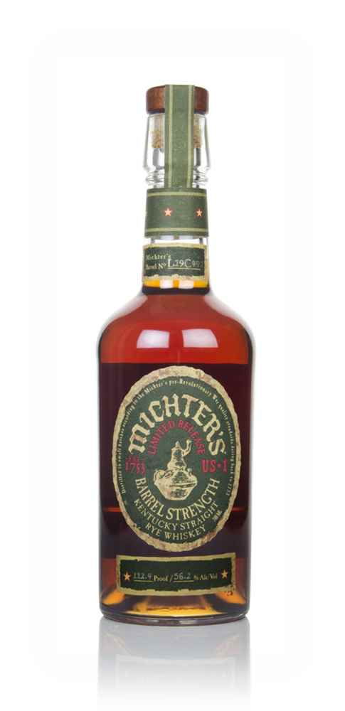 Michter's US*1 Barrel Strength Straight Rye