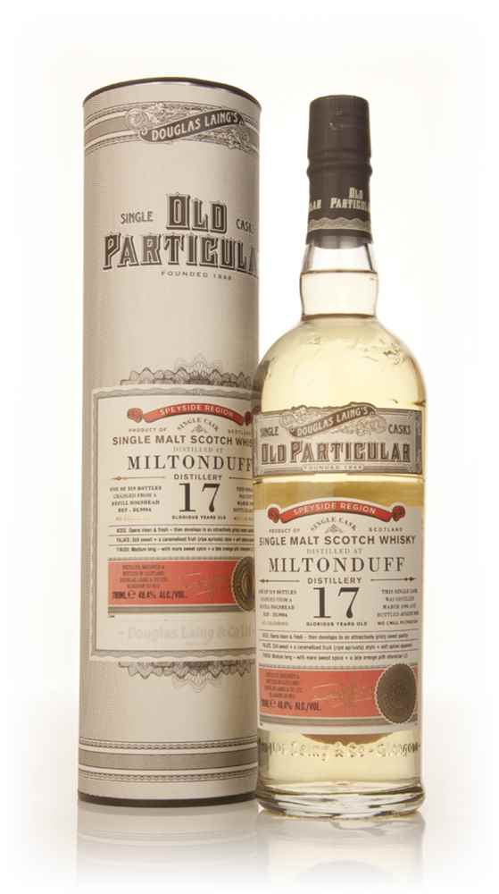 Miltonduff 17 Year Old 1996 (cask 9904) - Old Particular (Douglas Laing)