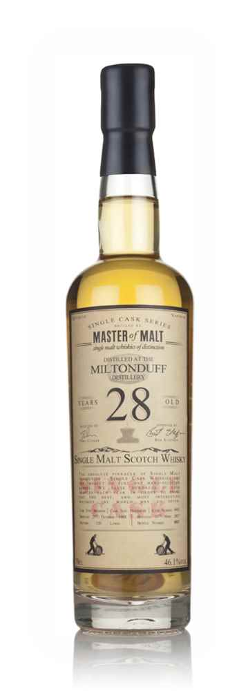 Miltonduff 28 Year Old 1988 - Single Cask (Master of Malt)