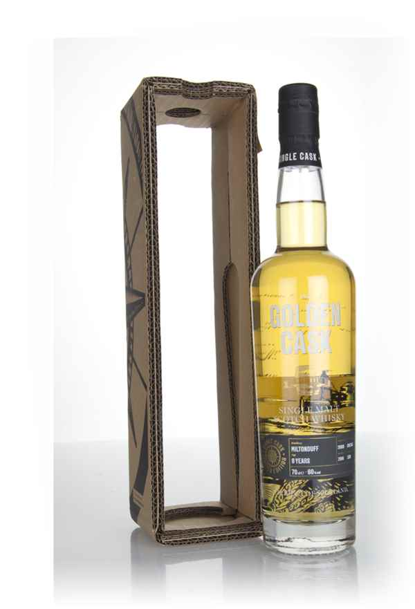 Miltonduff 8 Year Old 2009 (cask CM245) - The Golden Cask (House of Macduff)