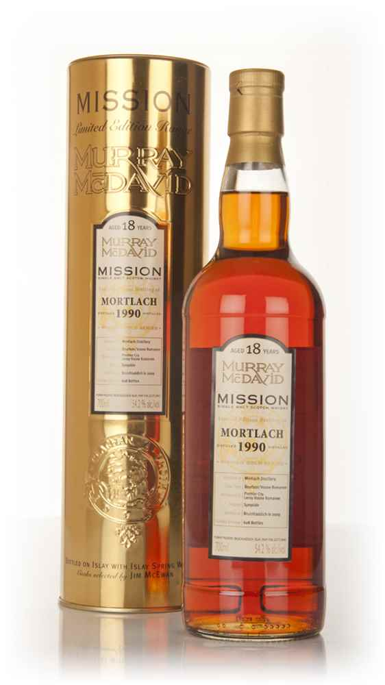 Mortlach 18 Year Old 1990 - Mission (Murray McDavid)