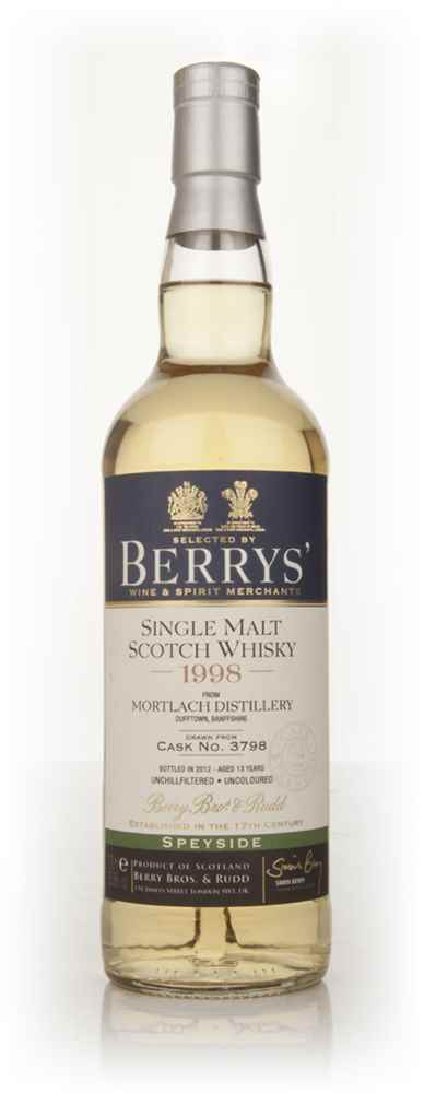 Mortlach 1998 (Berry Bros. & Rudd)