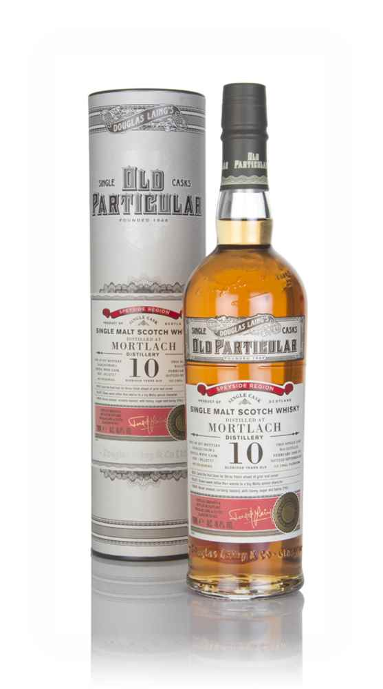 Mortlach 10 Year Old 2008 (cask 12757) - Old Particular (Douglas Laing)