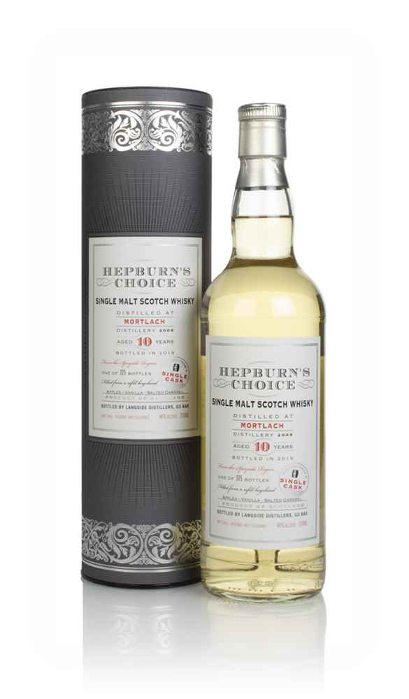 Mortlach 10 Year Old 2009 (bottled 2019) - Hepburn's Choice (Langside)