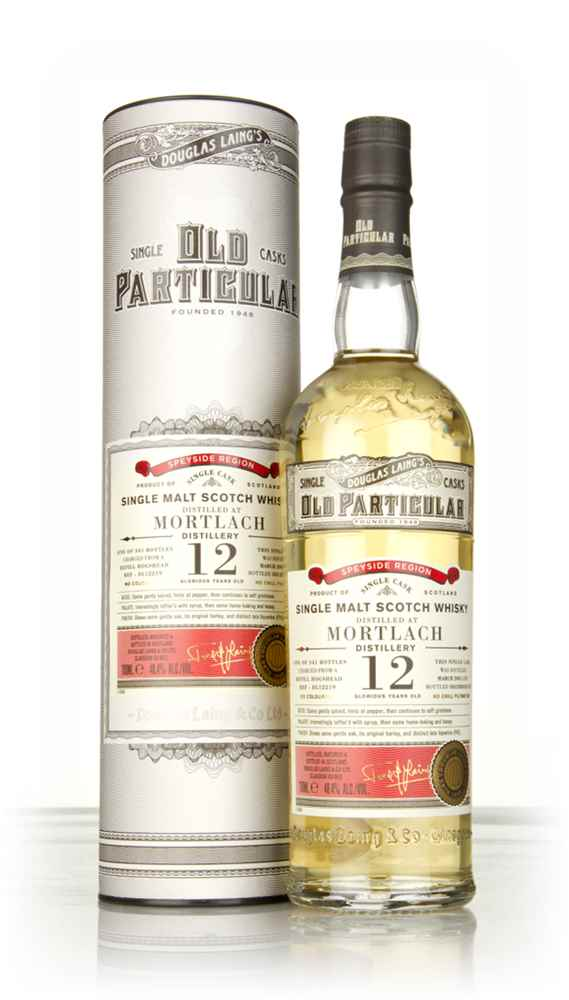 Mortlach 12 Year Old 2005 (cask 12219) - Old Particular (Douglas Laing)