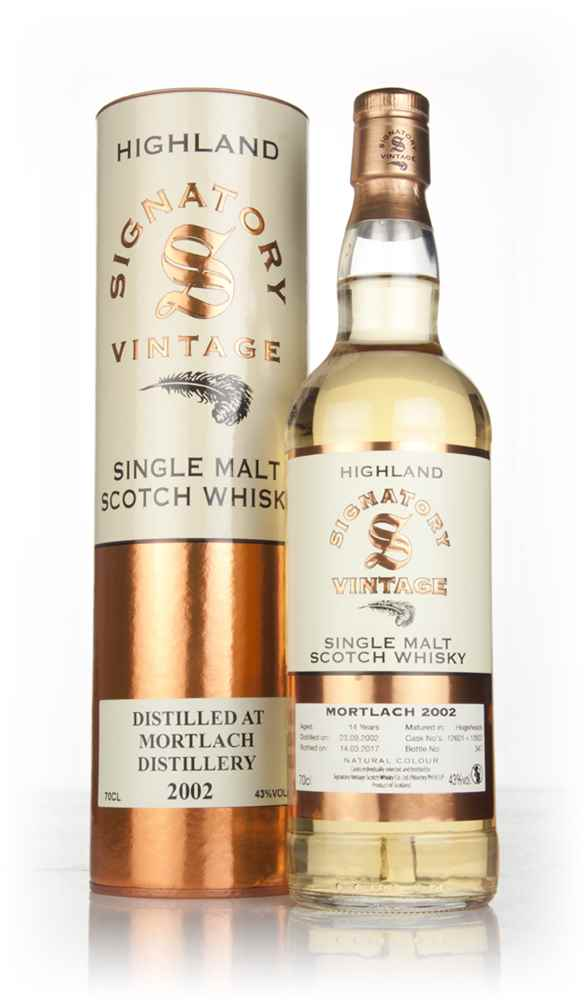 Mortlach 14 Year Old 2002 (casks 12601 & 12602) (Signatory)
