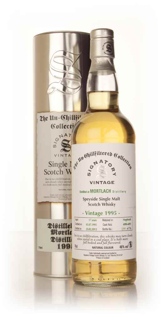 Mortlach 17 Year Old 1995 (casks 4090+4091) - Un-Chillfiltered (Signatory)