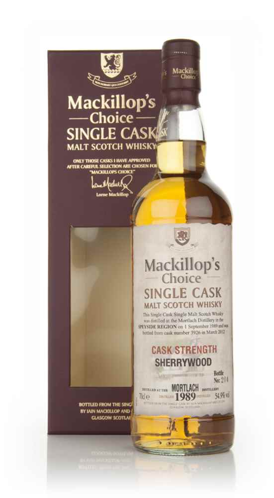 Mortlach 22 Year Old 1989 (cask 3926) - Mackillop's Choice