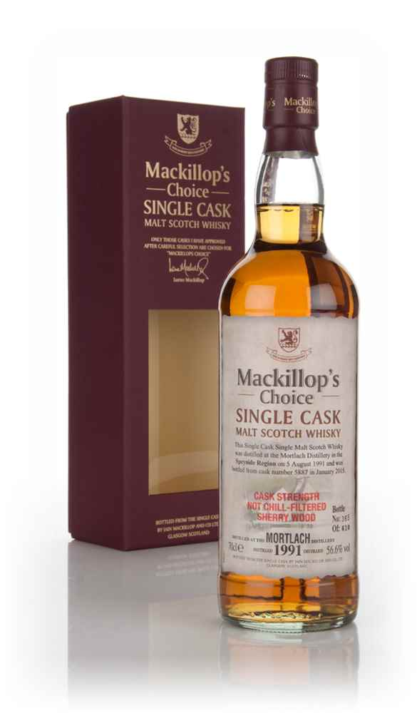 Mortlach 23 Year Old 1991 (cask 5887) - Mackillop's Choice