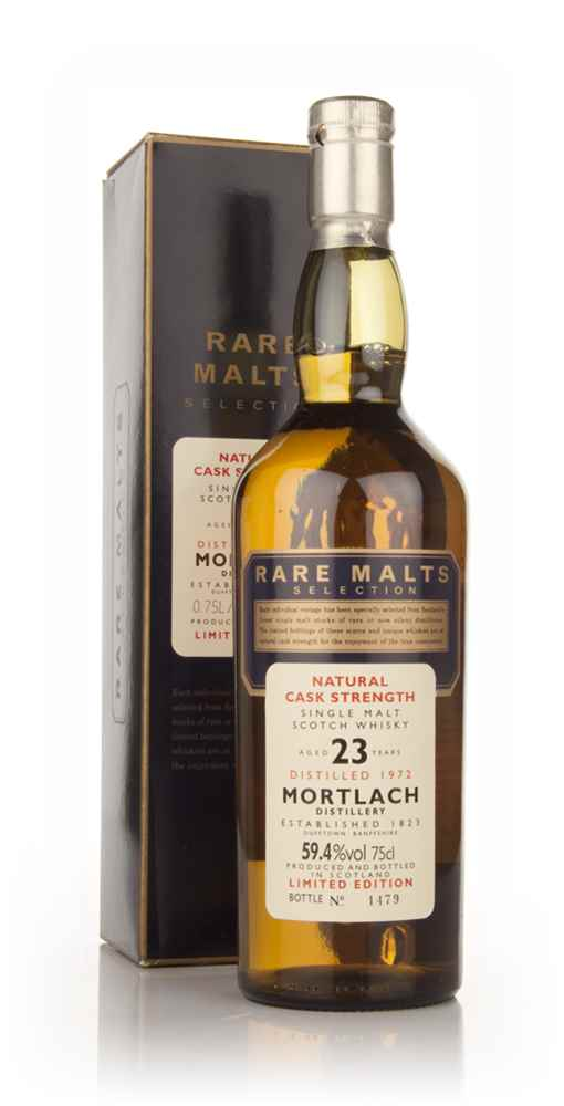 Mortlach 23 Year Old 1972 - Rare Malts 75cl