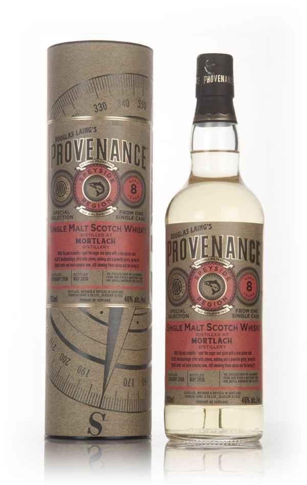 Mortlach 8 Year Old 2008 (cask 11257) - Provenance (Douglas Laing)