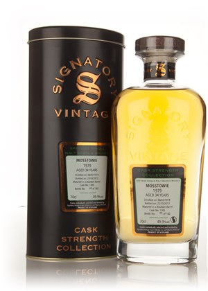 Mosstowie 34 Year Old 1979 (cask 1305) - Cask Strength Collection (Signatory)