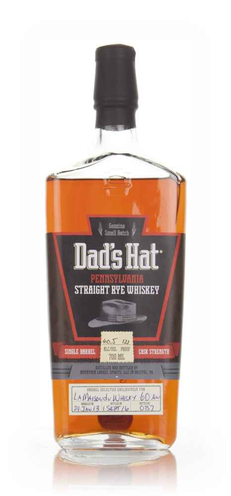 Dad's Hat Pennsylvania Straight Rye  (La Maison du Whisky 60th Anniversary)
