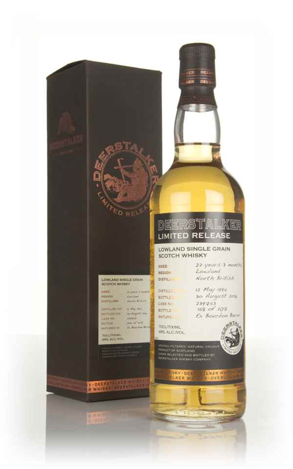 North British 22 Year Old 1994 (cask 239753) - Deerstalker Limited Release