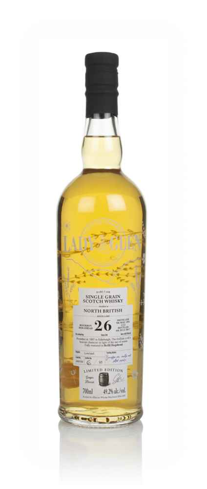 North British 26 Year Old 1991 (cask 200308) - Lady of the Glen (Hannah Whisky Merchants)