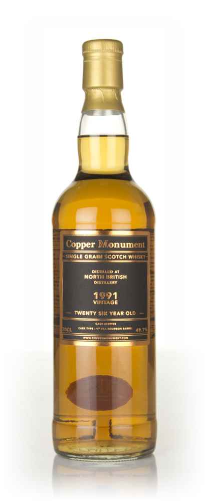 North British 26 Year Old 1991 (cask 239928) - Copper Monument