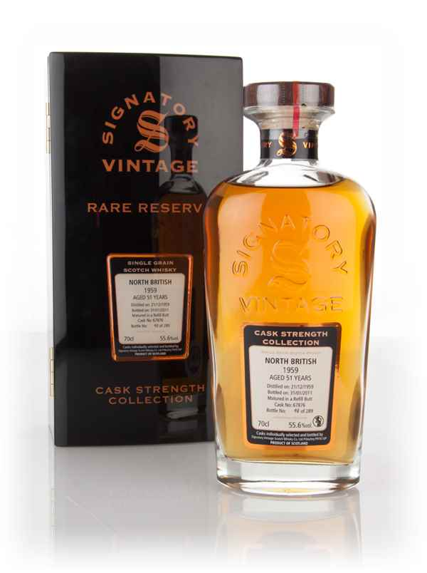 North British 51 Year Old 1959 (cask 67876) - Cask Strength Collection Rare Reserve (Signatory)