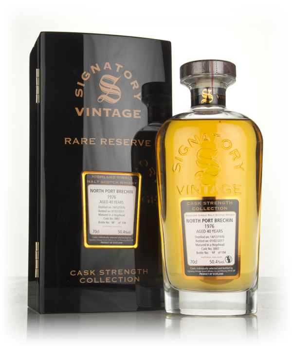 North Port Brechin 40 Year Old 1976 (cask 3887) - Cask Strength Collection Rare Reserve (Signatory)