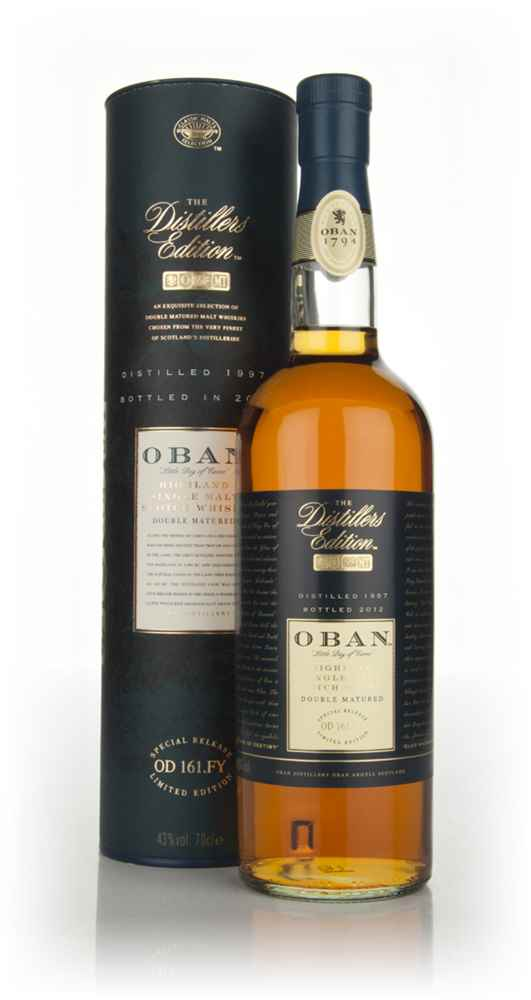 Oban 1997 (bottled 2012) Montilla Fino Cask Finish - Distillers Edition