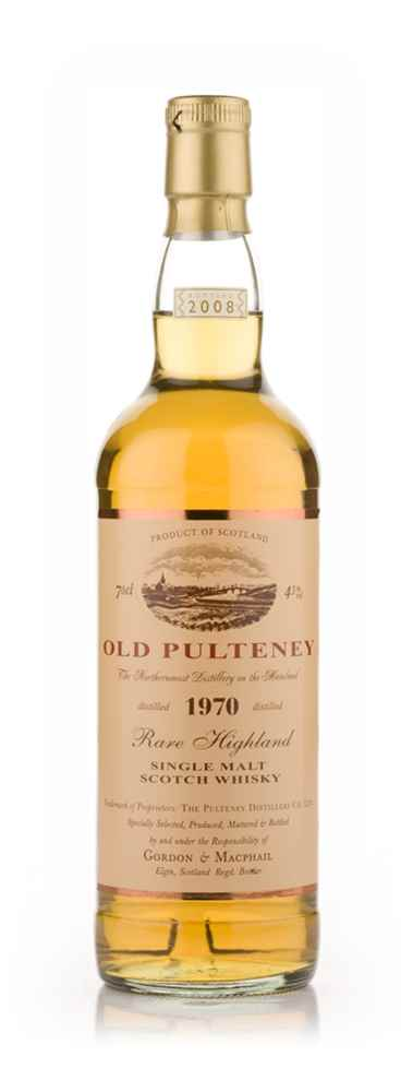 Old Pulteney 1970 (Gordon and MacPhail)