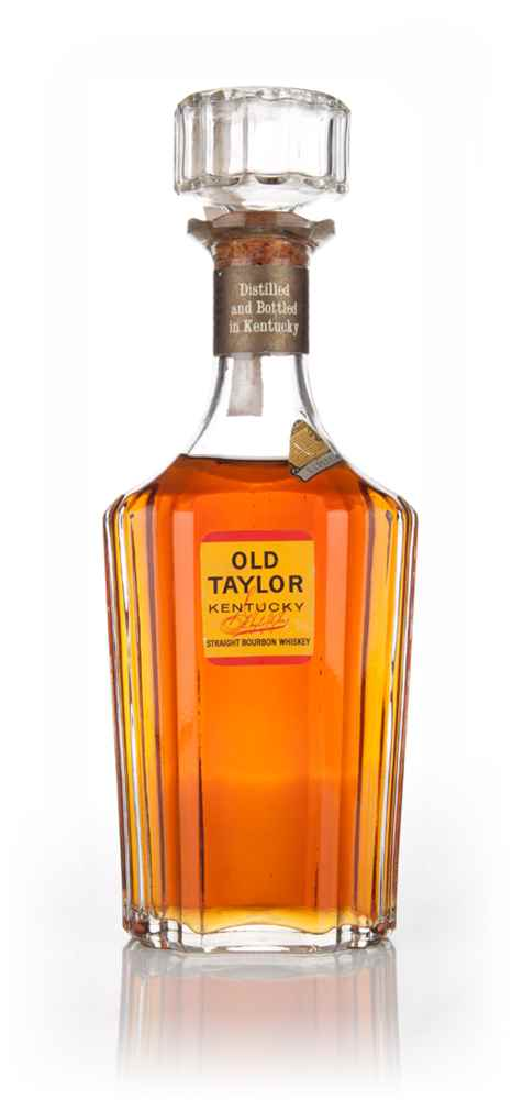 Old Taylor Kentucky Straight Bourbon Whiskey - 1960s