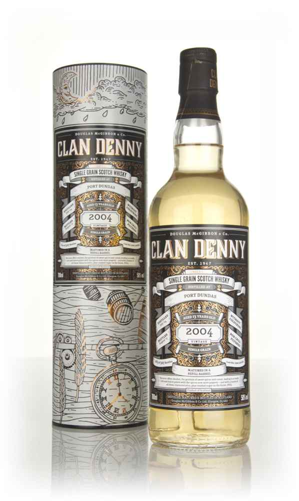 Port Dundas 13 Year Old 2004 (cask 12062) - Clan Denny (Douglas Laing)