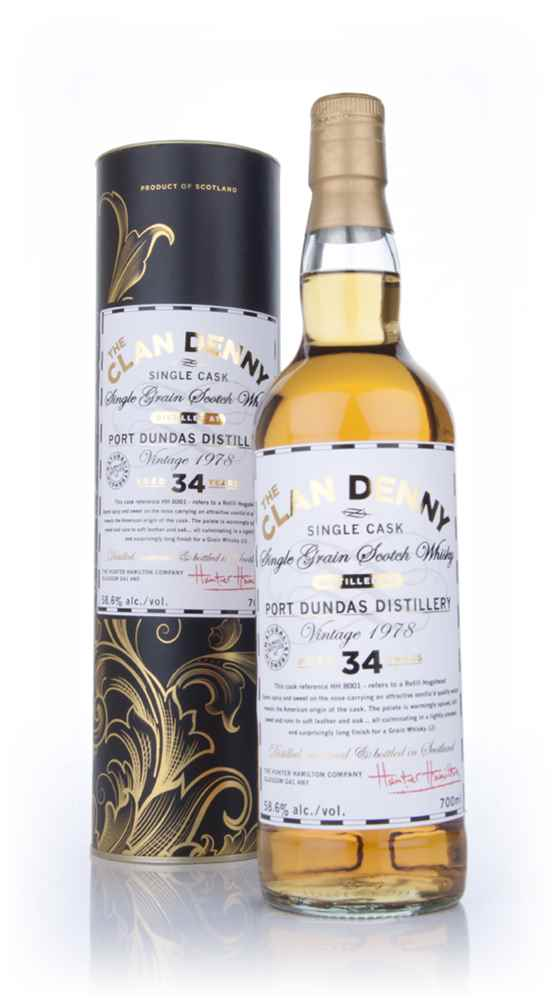 Port Dundas 34 Year Old 1978 - The Clan Denny (Douglas Laing)