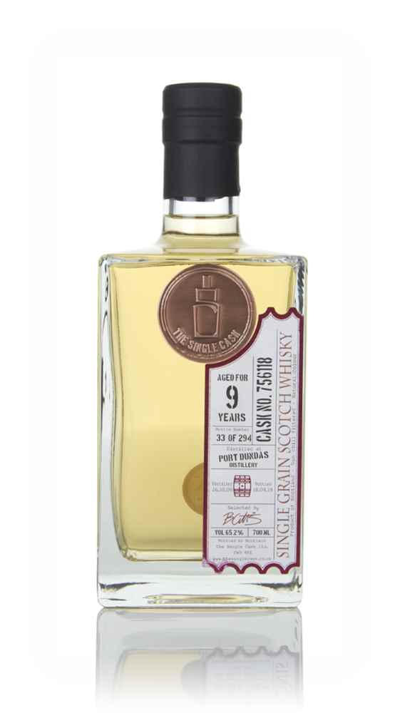 Port Dundas 9 Year Old  2009 (cask 756118) - The Single Cask