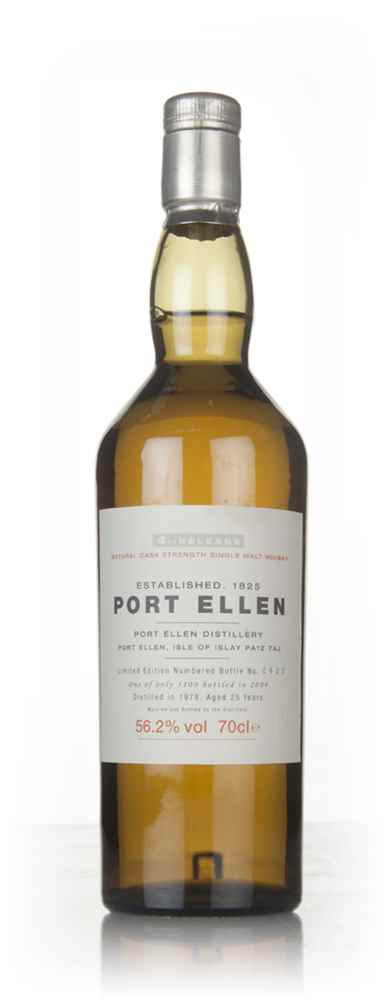 Port Ellen 25 Year Old 1978 - 4th Release (2004 Special Release)