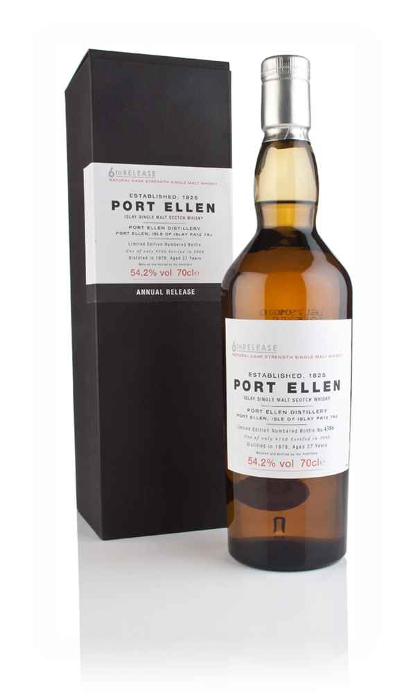 Port Ellen 27 Year Old 1978 - 6th Release (2006 Special Release)