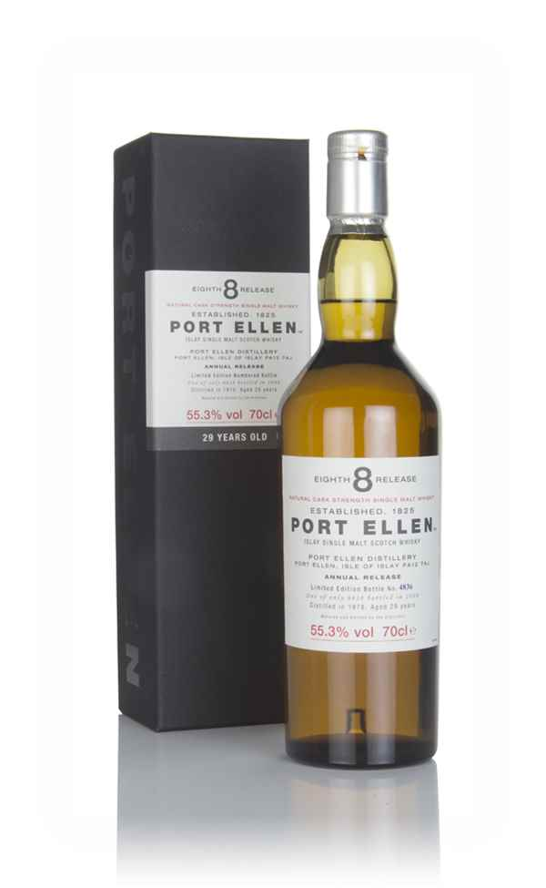 Port Ellen 29 Year Old 1978 - 8th Release (2008 Special Release)