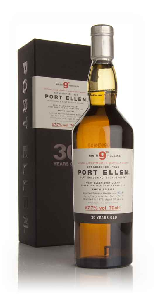 Port Ellen 30 Year Old 1979 - 9th Release (2009 Special Release)