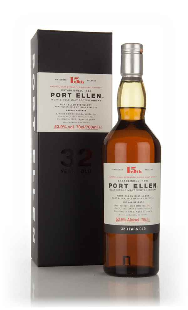 Port Ellen 32 Year Old 1983 - 15th Release (2015 Special Release)