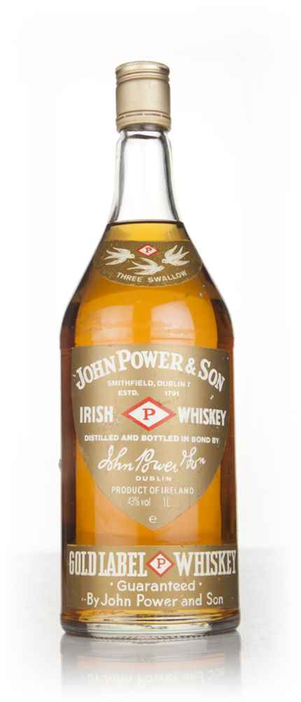 John Power & Son Gold Label - 1970s