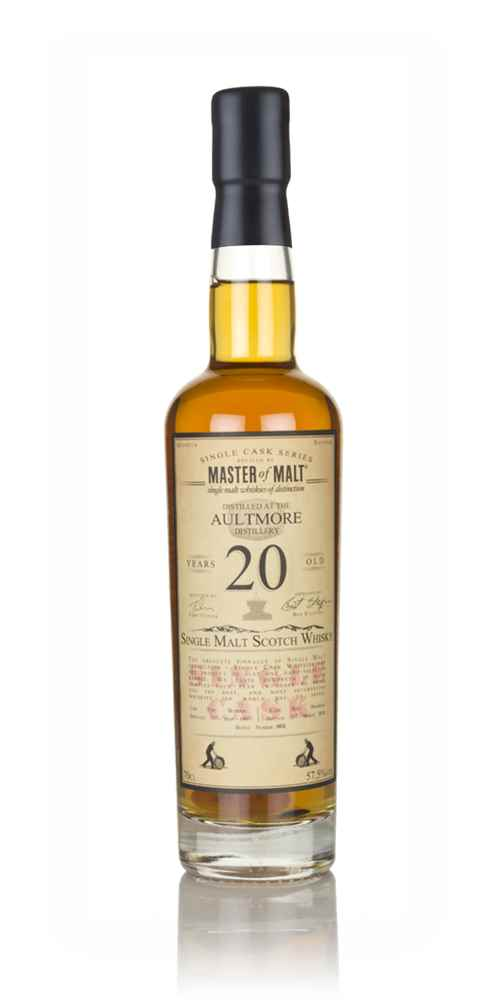 Aultmore 20 Year Old 1997 - Single Cask (Master of Malt)