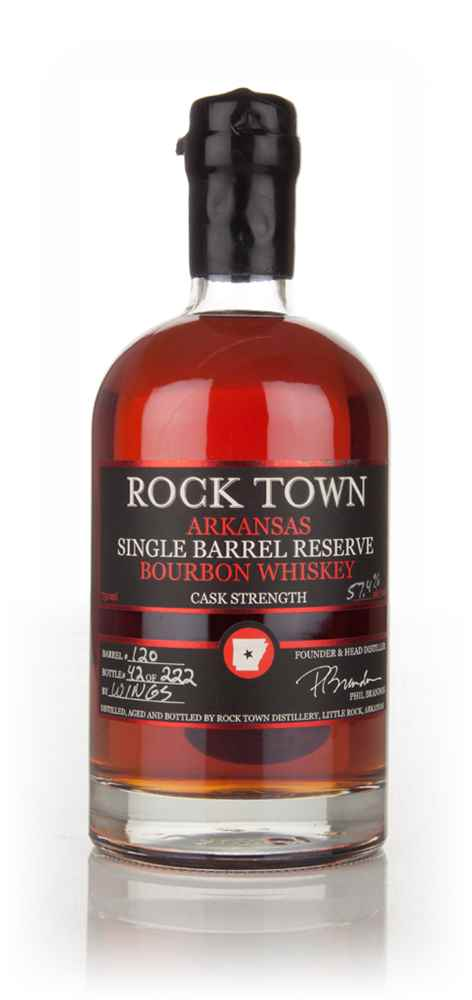 Rock Town Arkansas Single Barrel Bourbon