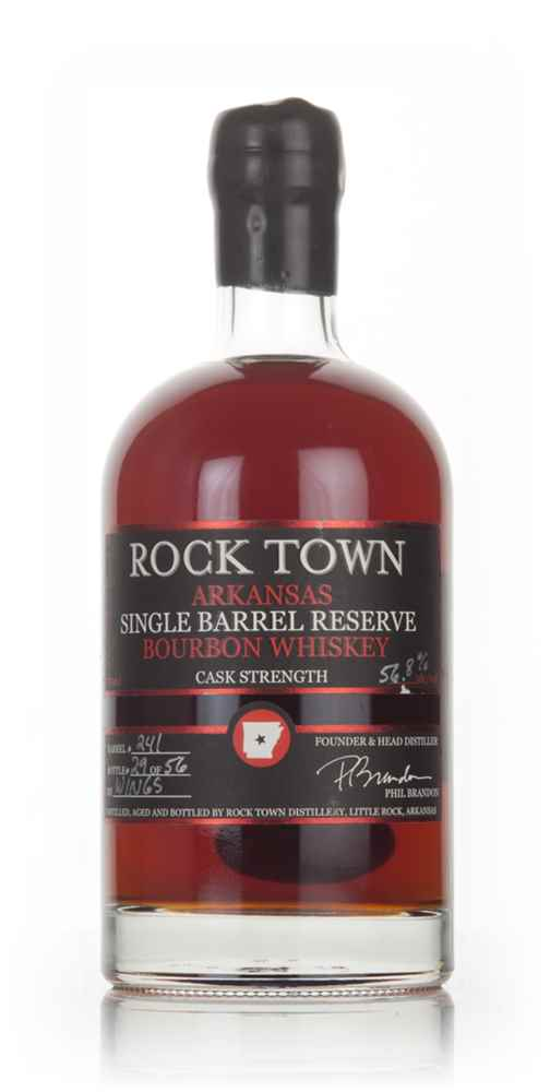 Rock Town Arkansas Single Barrel Reserve Bourbon Whiskey (cask 241)