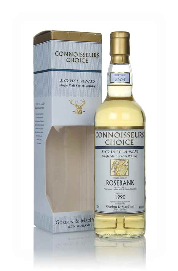 Rosebank 1990 (bottled 2005) - Connoisseurs Choice (Gordon & MacPhail)