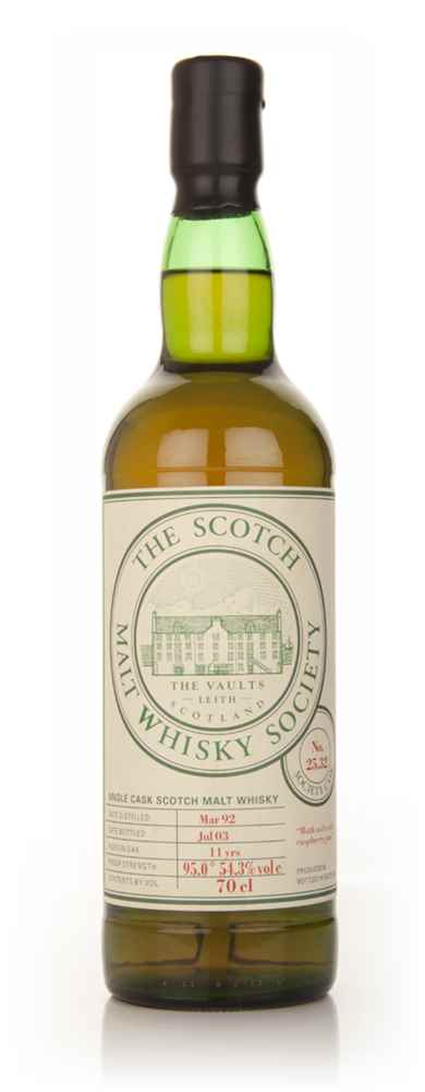 SMWS No. 25.32 11 Year Old 1992