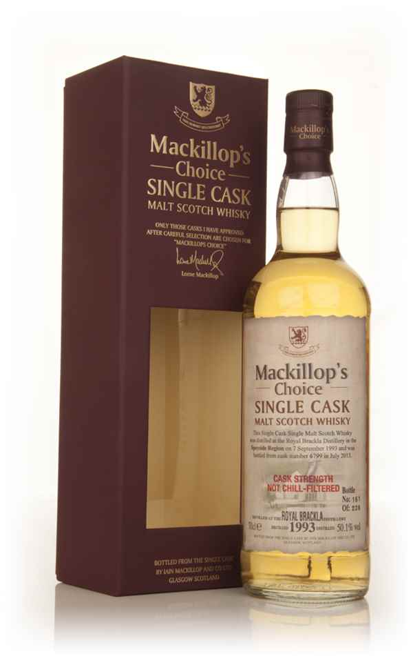 Royal Brackla 19 Year Old 1993 (cask 6799) - Mackillop's Choice