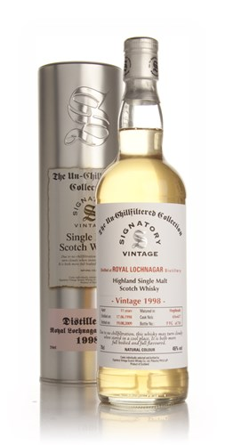 Royal Lochnagar 11 Year Old 1998 - Un-Chillfiltered (Signatory)