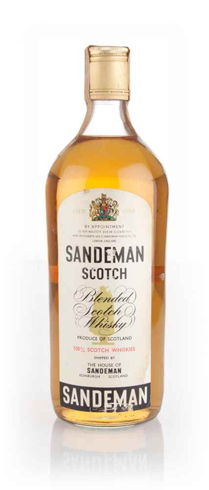 Sandeman's Blended Scotch Whisky - 1970s