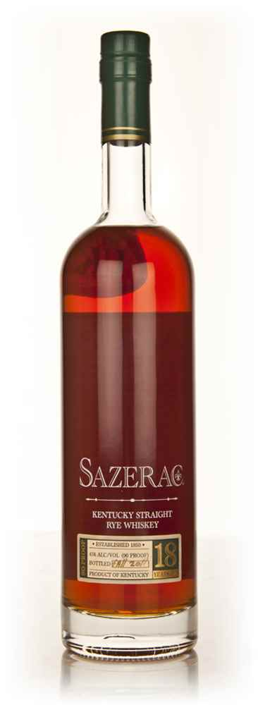 Sazerac Straight Rye 18 Year Old Whiskey (Fall 2011)