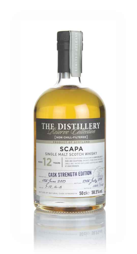 Scapa 12 Year Old 2003 - Distillery Reserve Collection