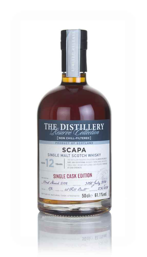 Scapa 12 Year Old 2006 (cask 674) - Distillery Reserve Collection